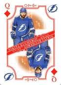 2019-20 O-Pee-Chee OPC Playing Cards #Q-DIAMONDS Nikita Kucherov Tampa Bay Lightning  Official NHL Hockey Trading Card (made by Upper Deck)