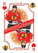 2019-20 O-Pee-Chee OPC Playing Cards #K-HEARTS Patrick Kane Chicago Blackhawks  Official NHL Hockey Trading Card (made by Upper Deck)