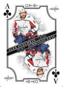 2019-20 O-Pee-Chee OPC Playing Cards #A-CLUBS Alexander Ovechkin Washington Capitals  Official NHL Hockey Trading Card (made by Upper Deck)