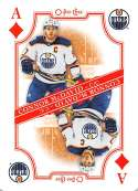 2019-20 O-Pee-Chee OPC Playing Cards #A-DIAMONDS Connor McDavid Edmonton Oilers  Official NHL Hockey Trading Card (made by Upper Deck)