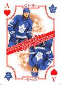 2019-20 O-Pee-Chee OPC Playing Cards #A-HEARTS Auston Matthews Toronto Maple Leafs  Official NHL Hockey Trading Card (made by Upper Deck)