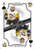 2019-20 O-Pee-Chee OPC Playing Cards #A-SPADES Sidney Crosby Pittsburgh Penguins  Official NHL Hockey Trading Card (made by Upper Deck)