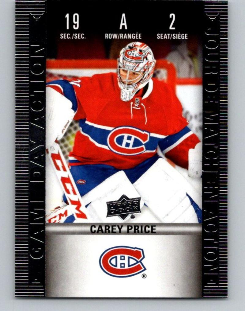 2019-20 Upper Deck Tim Hortons Game Day Action