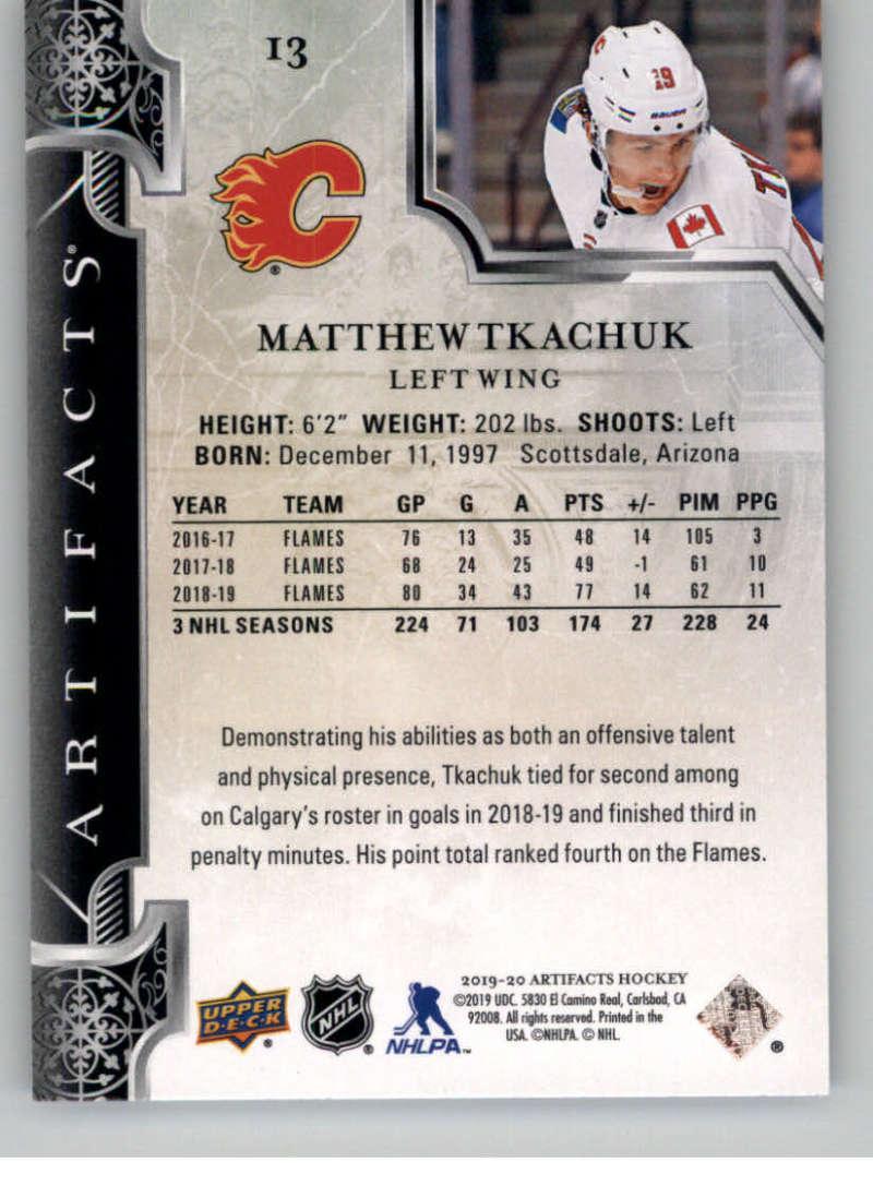 2019-20-Upper-Deck-Artifacts-Hockey-Base-Set-Cards-Choose-Card-039-s-1-100 thumbnail 27