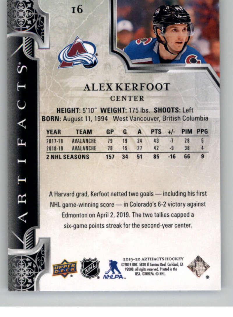 2019-20-Upper-Deck-Artifacts-Hockey-Base-Set-Cards-Choose-Card-039-s-1-100 thumbnail 33