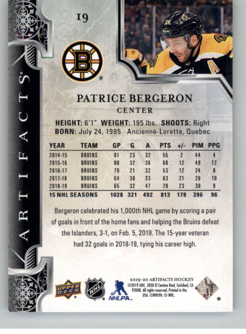 2019-20-Upper-Deck-Artifacts-Hockey-Base-Set-Cards-Choose-Card-039-s-1-100 thumbnail 39