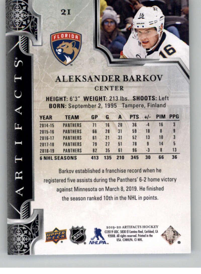 2019-20-Upper-Deck-Artifacts-Hockey-Base-Set-Cards-Choose-Card-039-s-1-100 thumbnail 43