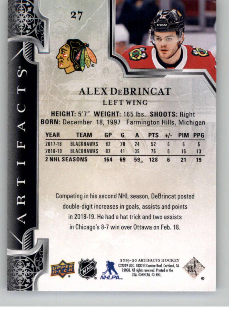 2019-20-Upper-Deck-Artifacts-Hockey-Base-Set-Cards-Choose-Card-039-s-1-100 thumbnail 55