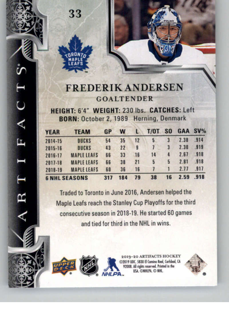 2019-20-Upper-Deck-Artifacts-Hockey-Base-Set-Cards-Choose-Card-039-s-1-100 thumbnail 67