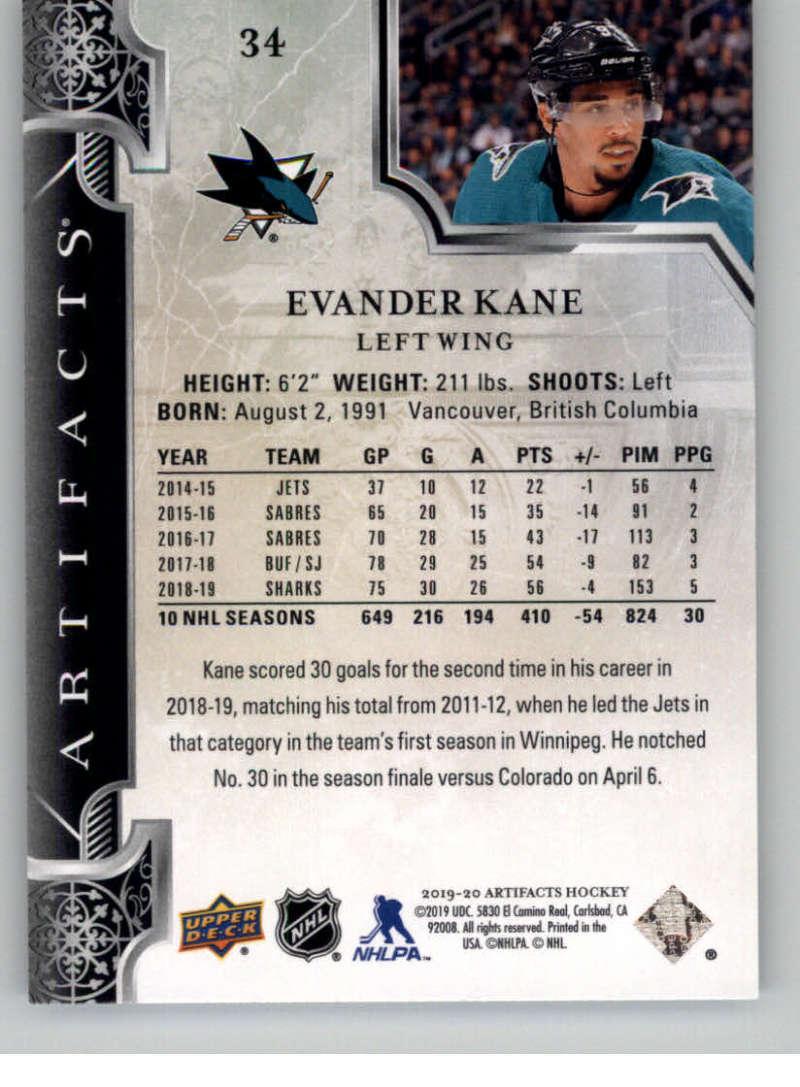2019-20-Upper-Deck-Artifacts-Hockey-Base-Set-Cards-Choose-Card-039-s-1-100 thumbnail 69