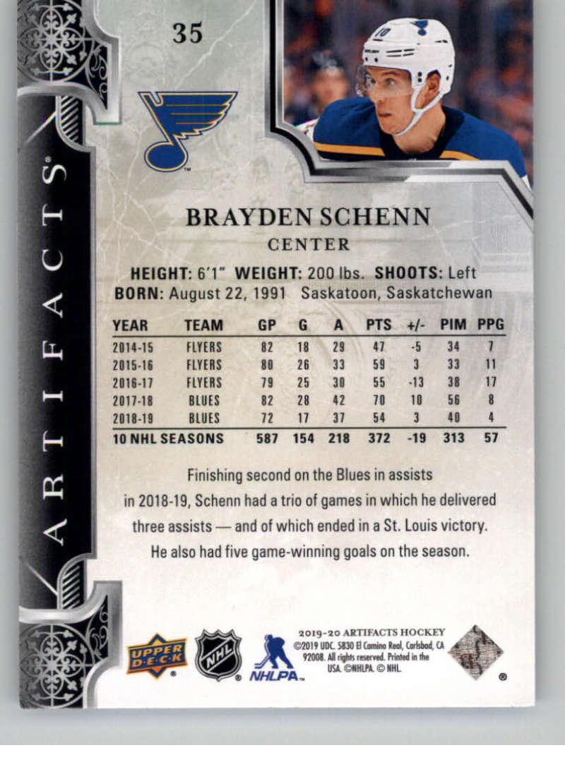 2019-20-Upper-Deck-Artifacts-Hockey-Base-Set-Cards-Choose-Card-039-s-1-100 thumbnail 71