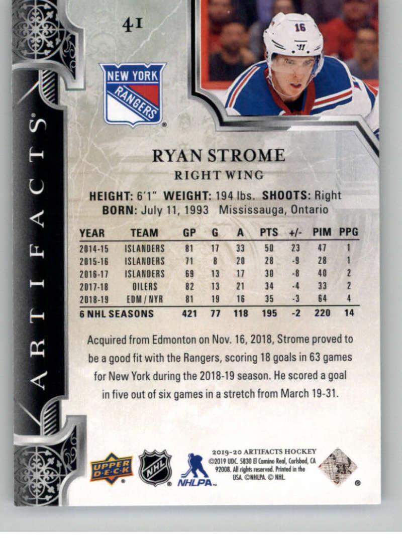 2019-20-Upper-Deck-Artifacts-Hockey-Base-Set-Cards-Choose-Card-039-s-1-100 thumbnail 83