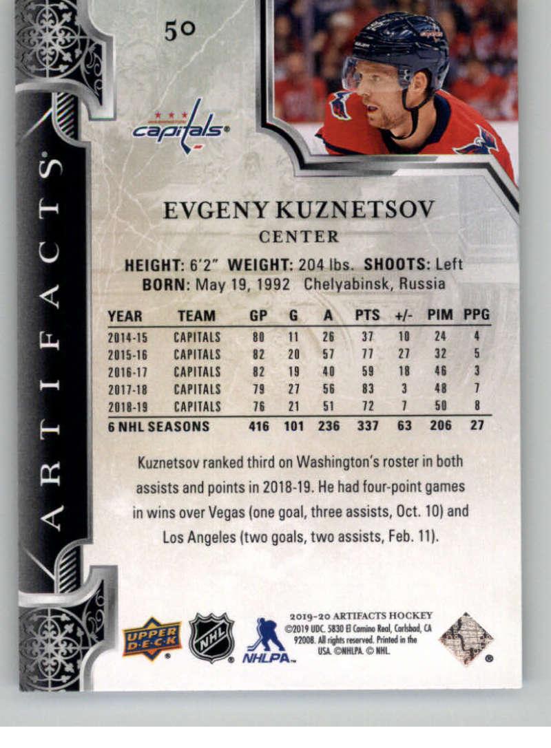 2019-20-Upper-Deck-Artifacts-Hockey-Base-Set-Cards-Choose-Card-039-s-1-100 thumbnail 99