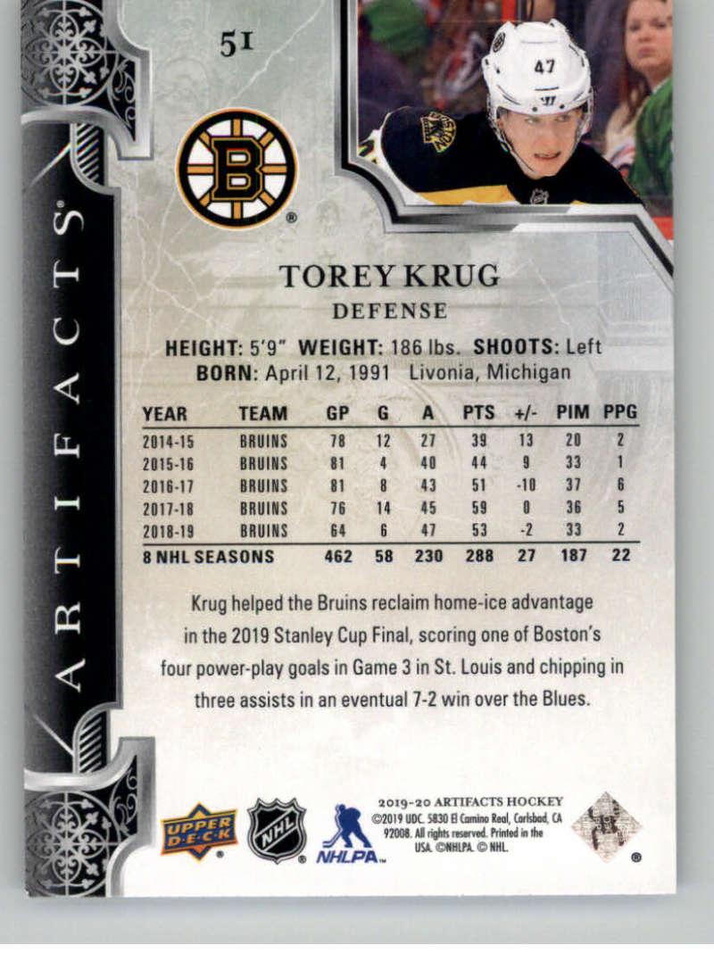 2019-20-Upper-Deck-Artifacts-Hockey-Base-Set-Cards-Choose-Card-039-s-1-100 thumbnail 101