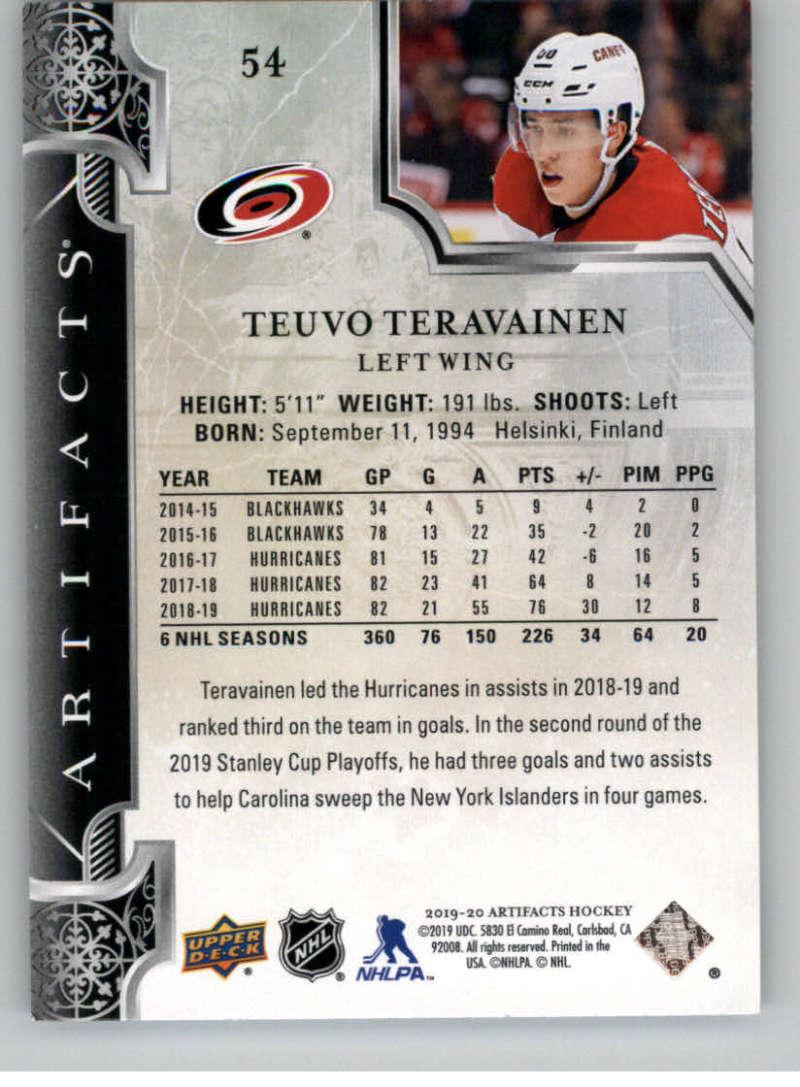 2019-20-Upper-Deck-Artifacts-Hockey-Base-Set-Cards-Choose-Card-039-s-1-100 thumbnail 107