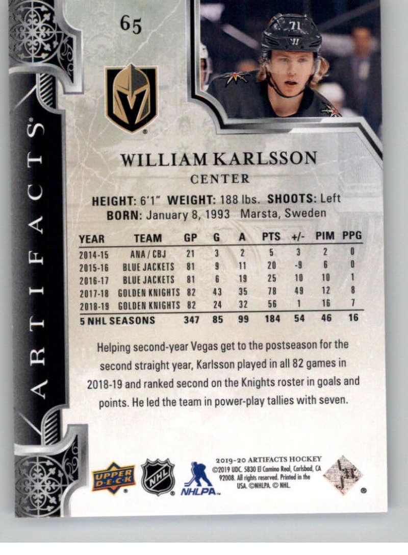 2019-20-Upper-Deck-Artifacts-Hockey-Base-Set-Cards-Choose-Card-039-s-1-100 thumbnail 129