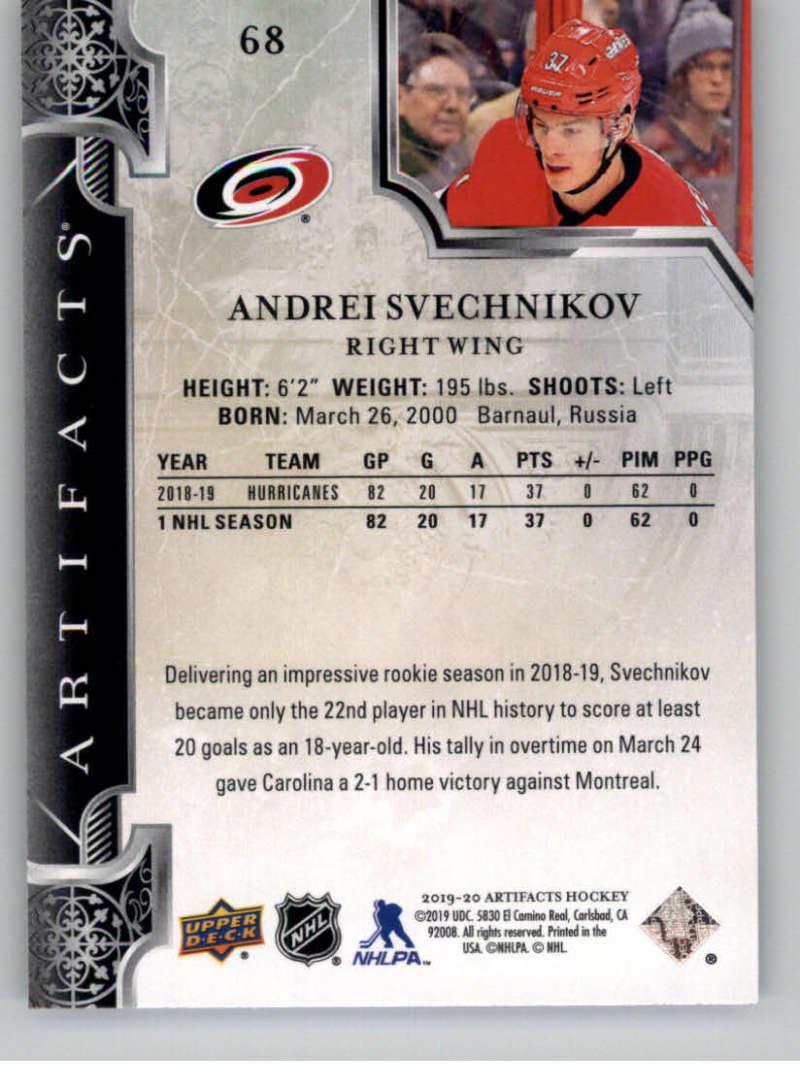 2019-20-Upper-Deck-Artifacts-Hockey-Base-Set-Cards-Choose-Card-039-s-1-100 thumbnail 135
