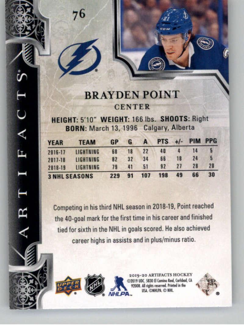 2019-20-Upper-Deck-Artifacts-Hockey-Base-Set-Cards-Choose-Card-039-s-1-100 thumbnail 151