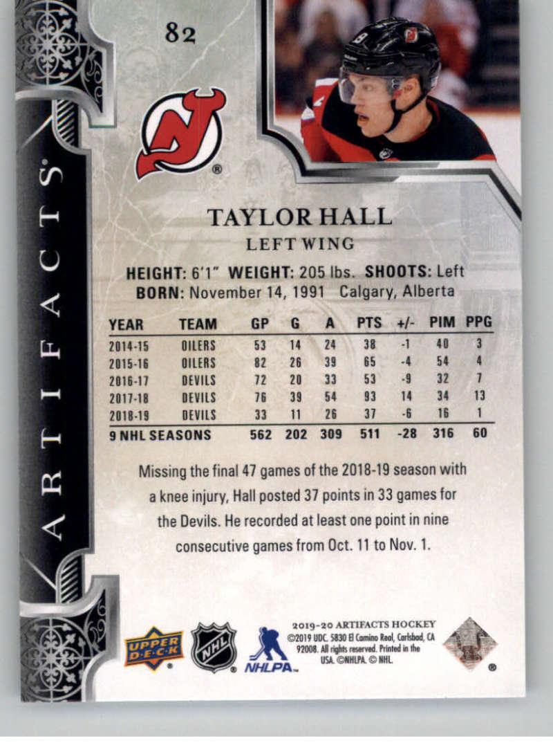 2019-20-Upper-Deck-Artifacts-Hockey-Base-Set-Cards-Choose-Card-039-s-1-100 thumbnail 159