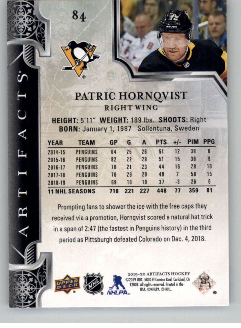 2019-20-Upper-Deck-Artifacts-Hockey-Base-Set-Cards-Choose-Card-039-s-1-100 thumbnail 163