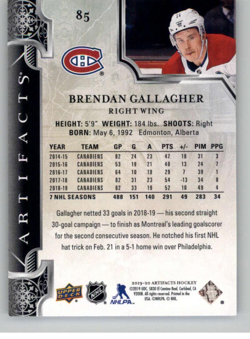 2019-20-Upper-Deck-Artifacts-Hockey-Base-Set-Cards-Choose-Card-039-s-1-100 thumbnail 165