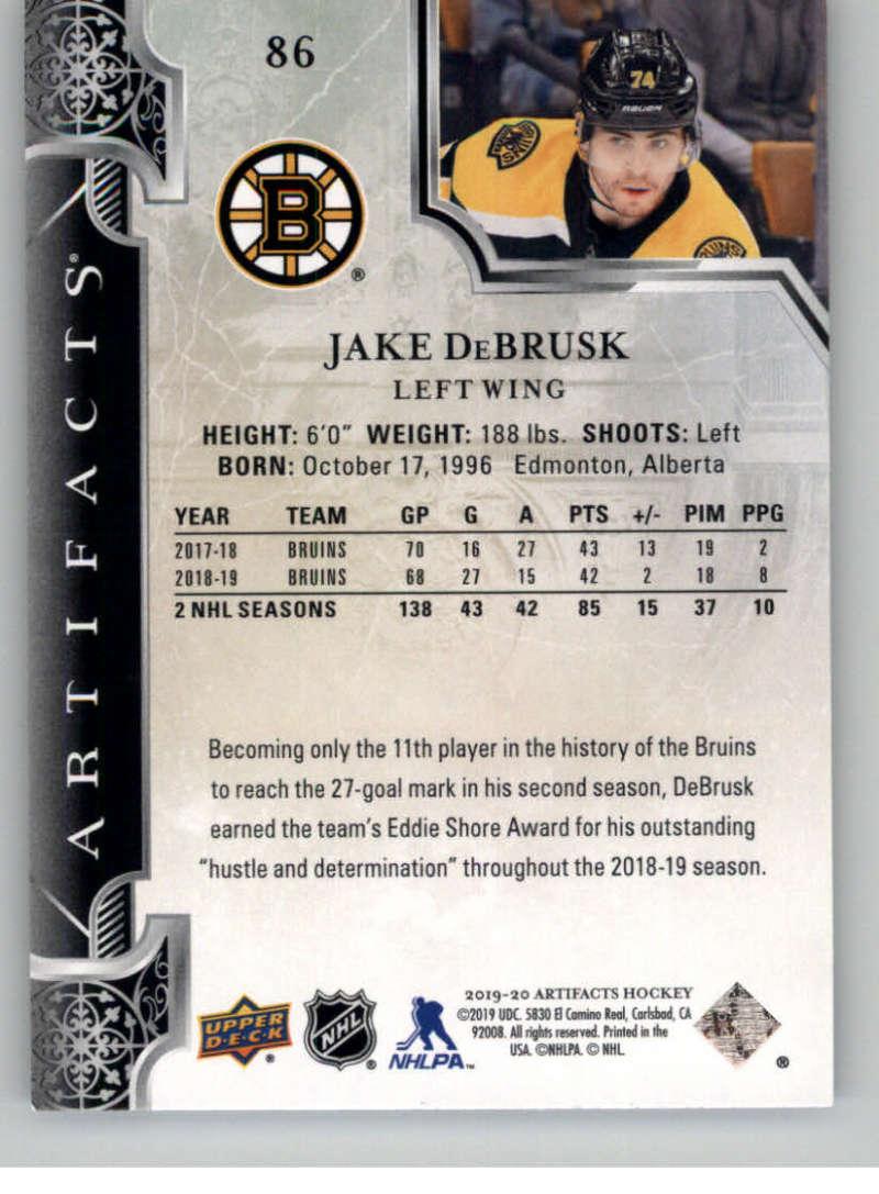 2019-20-Upper-Deck-Artifacts-Hockey-Base-Set-Cards-Choose-Card-039-s-1-100 thumbnail 167