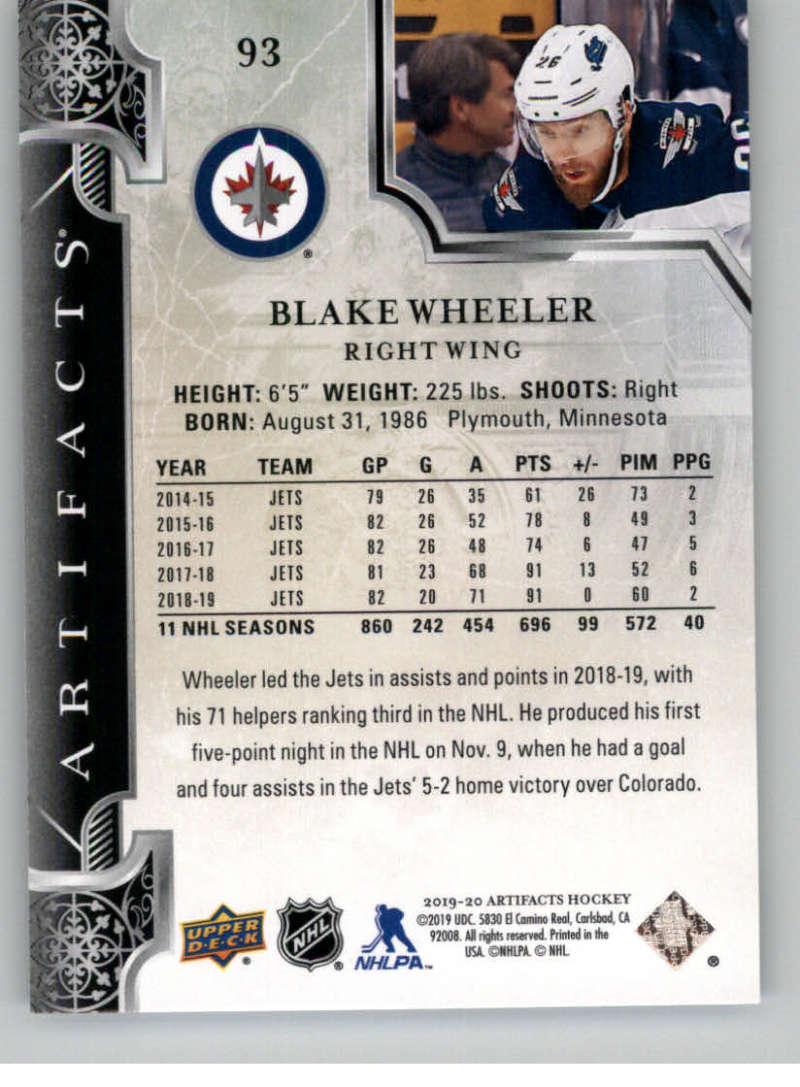 2019-20-Upper-Deck-Artifacts-Hockey-Base-Set-Cards-Choose-Card-039-s-1-100 thumbnail 181