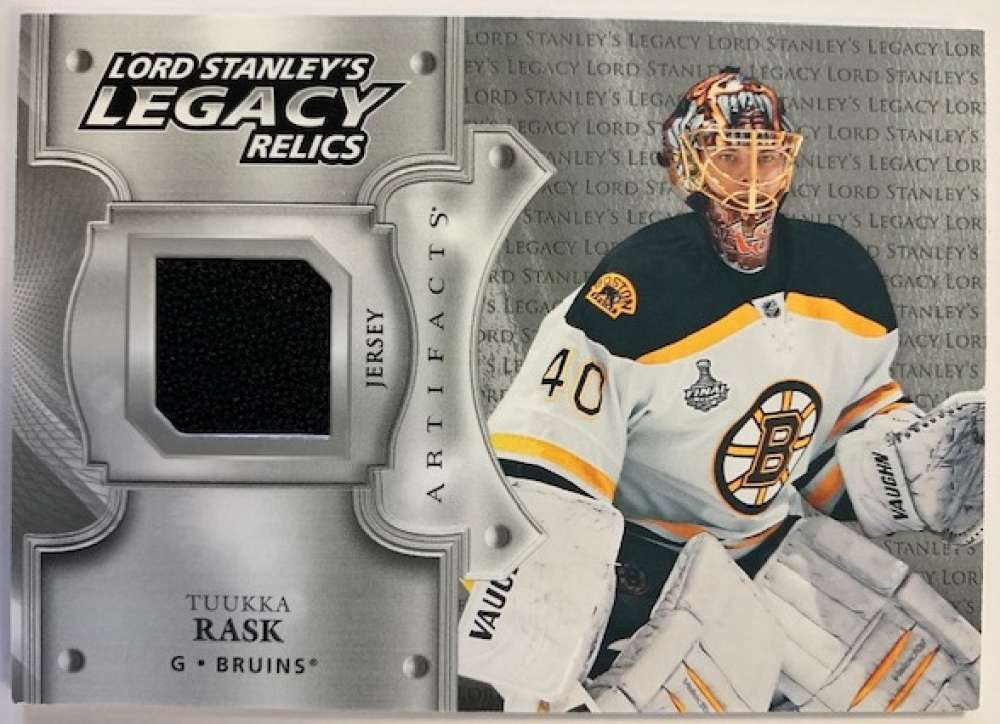 2019-20 Upper Deck Artifacts Lord Stanley's Legacy Relics