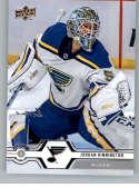 2019-20 Upper Deck Hockey Series 1 #123 Jordan Binnington St. Louis Blues  Official UD NHL Trading Card