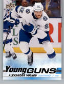 2019-20 Upper Deck Series 2 Hockey #488 Alexander Volkov RC Rookie Tampa Bay Lightning Young Guns  Official UD Trading Card