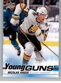 2019-20 Upper Deck Series 2 Hockey #489 Nicolas Hague RC Rookie Vegas Golden Knights Young Guns  Official UD Trading Card