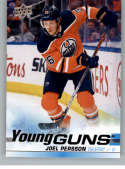 2019-20 Upper Deck Series 2 Hockey #497 Joel Persson RC Rookie Edmonton Oilers Young Guns  Official UD Trading Card