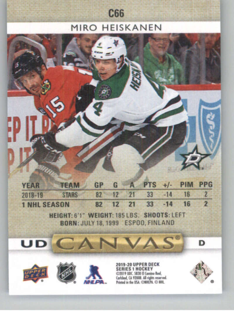 2019-20-Upper-Deck-Series-1-NHL-Hockey-Insert-Parallel-Singles-Pick-Your-Cards thumbnail 40