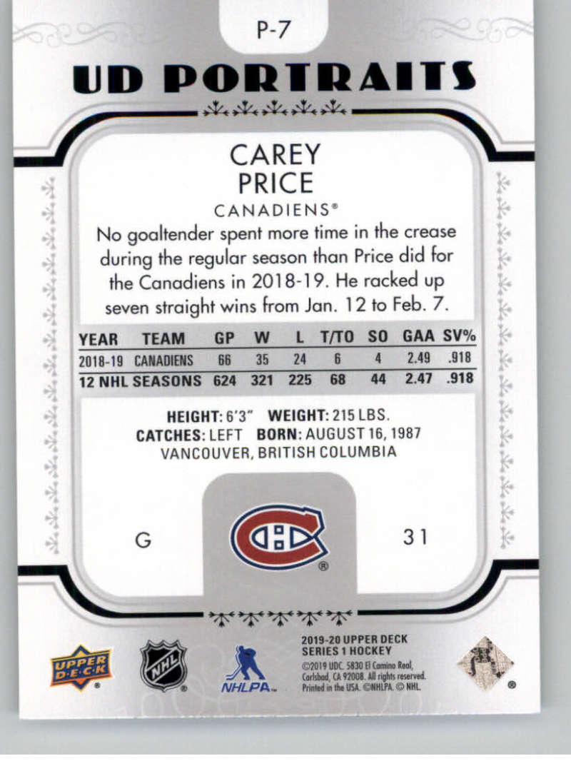 2019-20-Upper-Deck-Series-1-NHL-Hockey-Insert-Parallel-Singles-Pick-Your-Cards thumbnail 122