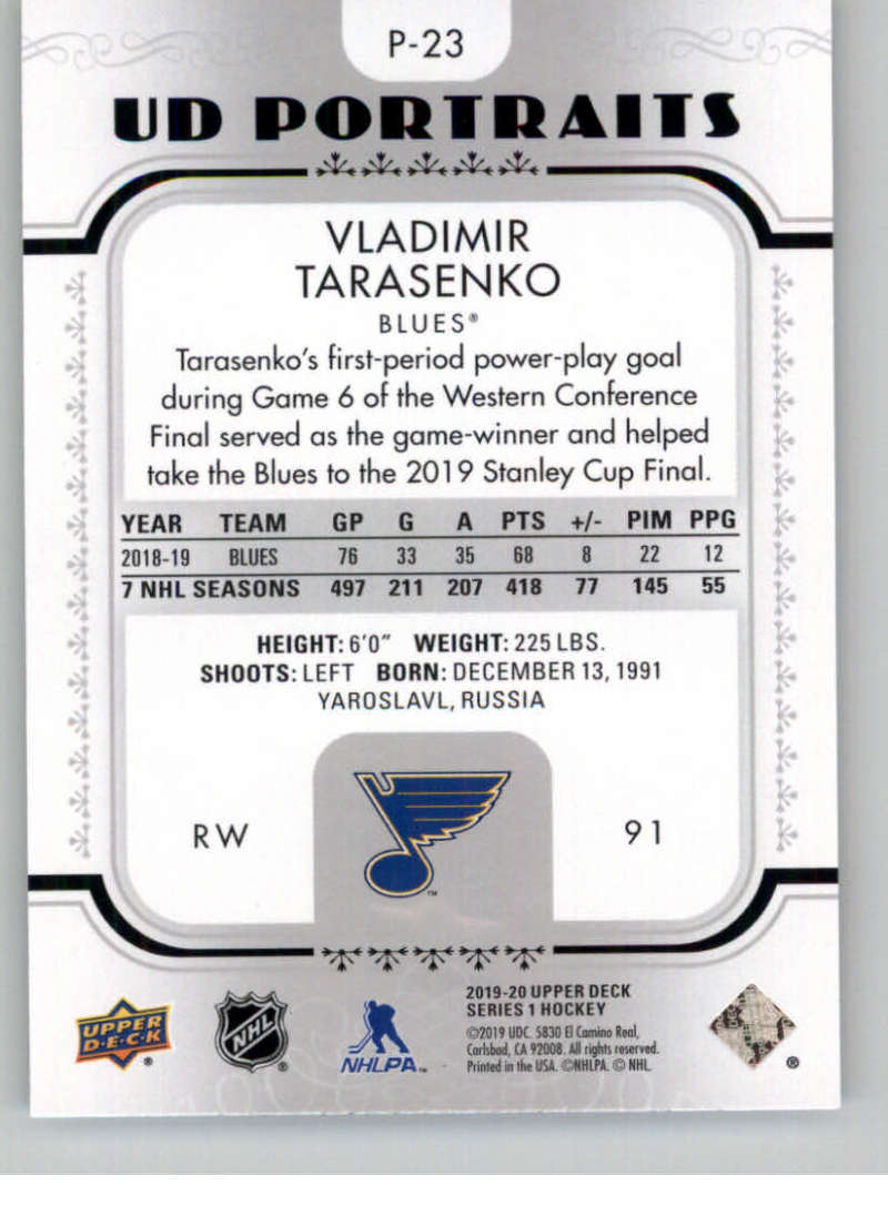 2019-20-Upper-Deck-Series-1-NHL-Hockey-Insert-Parallel-Singles-Pick-Your-Cards thumbnail 142
