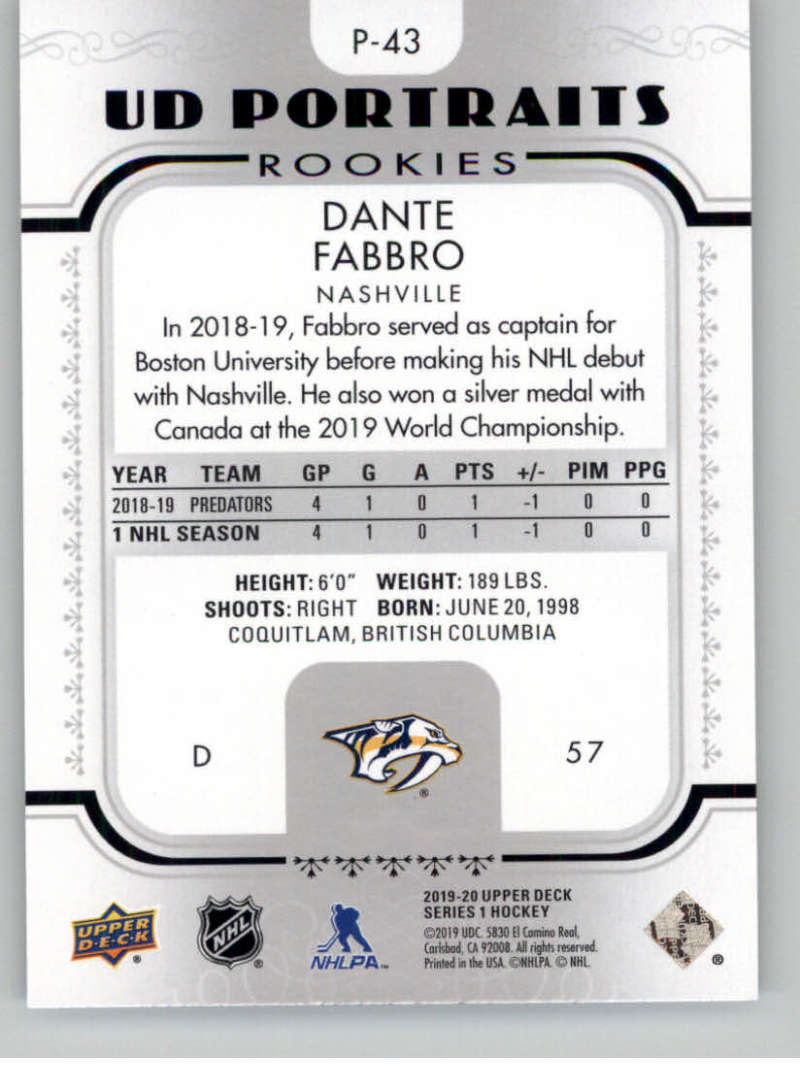 2019-20-Upper-Deck-Series-1-NHL-Hockey-Insert-Parallel-Singles-Pick-Your-Cards thumbnail 172