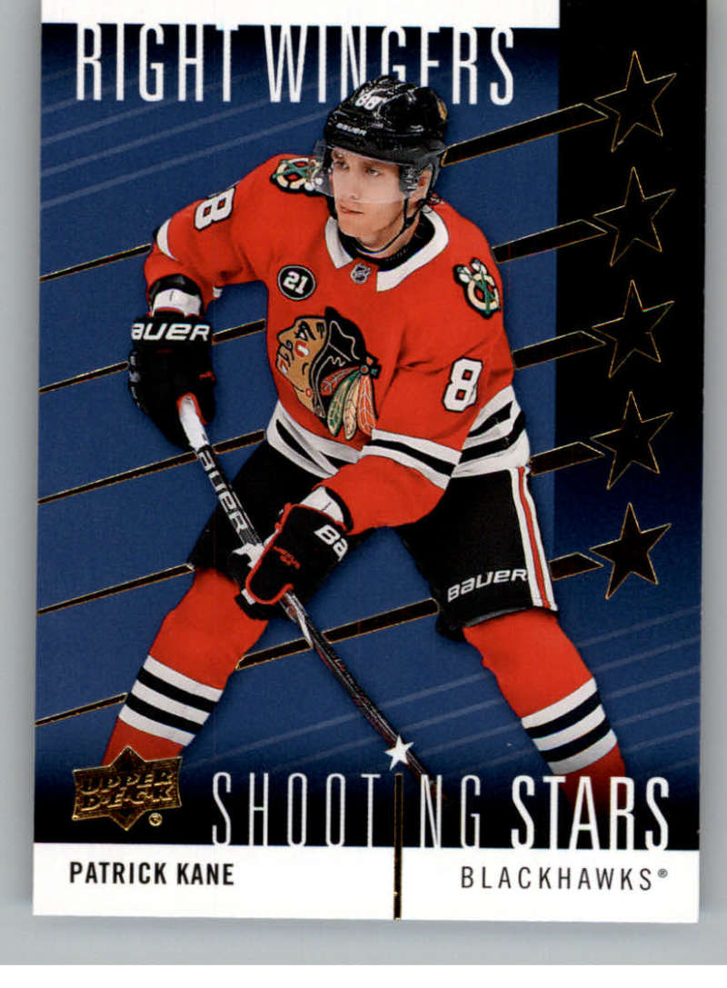 2019-20 Upper Deck  Shooting Stars - Right Wingers