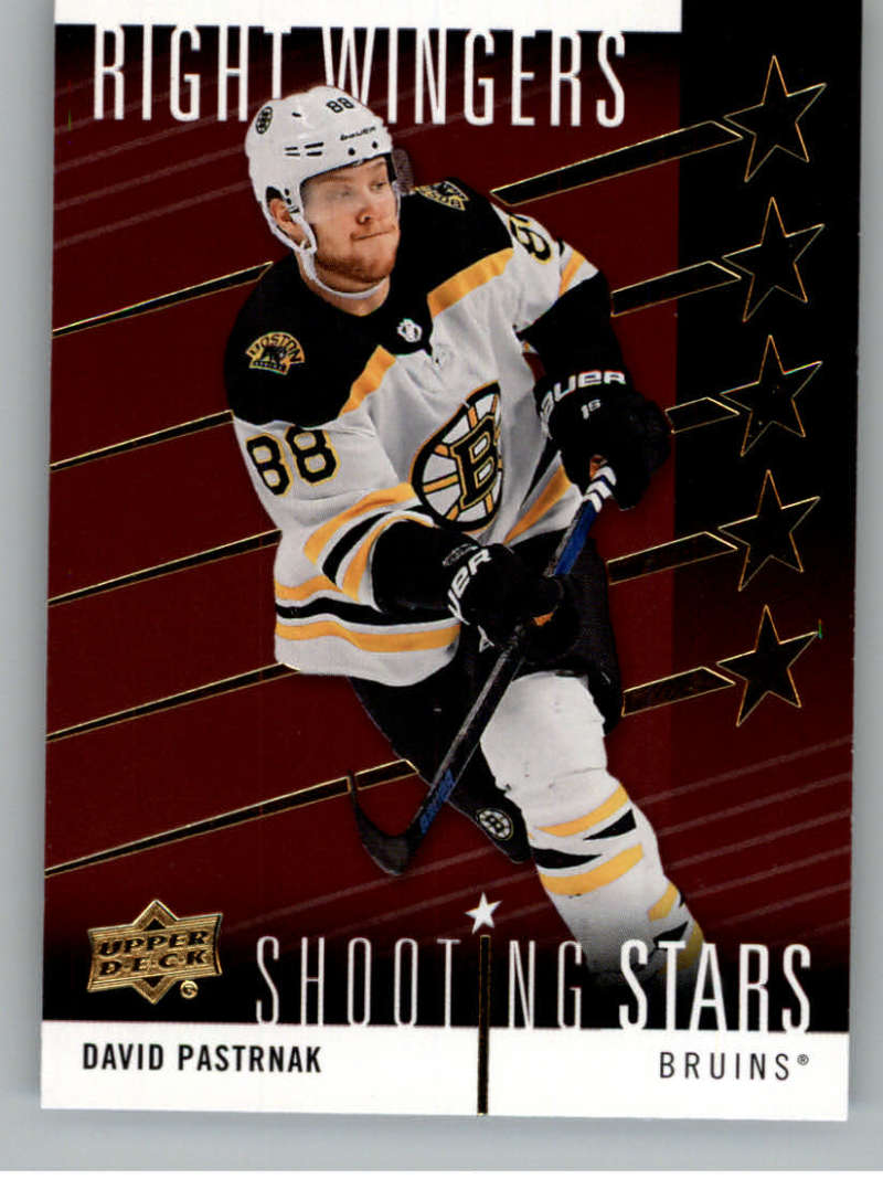 2019-20 Upper Deck  Shooting Stars Red - Right Wingers