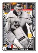 2019-20 Topps NHL Stickers Hockey #534 Calvin Petersen Los Angeles Kings  Official 1.5 Inch Wide X 2.5 Inch Tall Album Sticker Trading Card