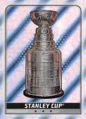 2019-20 Topps NHL Stickers Hockey #611 Stanley Cup Trophy Foil  Official 1.5 Inch Wide X 2.5 Inch Tall Album Sticker Trading Card