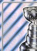 2019-20 Topps NHL Stickers Hockey #618 St. Louis Blues Stanley Cup Puzzle FOIL  Official 1.5 Inch Wide X 2.5 Inch Tall Album Sticker Trading Card