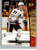 2019-20 Upper Deck NHL Rookie Box Set #6 Kirby Dach Chicago Blackhawks  Official UD Hockey Trading Card