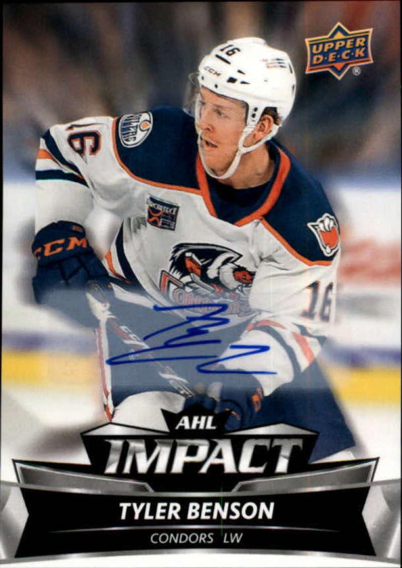 2019-20 Upper Deck AHL Impact Autographs
