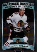 2019-20 OPC O-Pee-Chee Platinum Hockey #186 Dominik Kubalik RC Rookie Chicago Blackhawks  Official NHL Trading Card