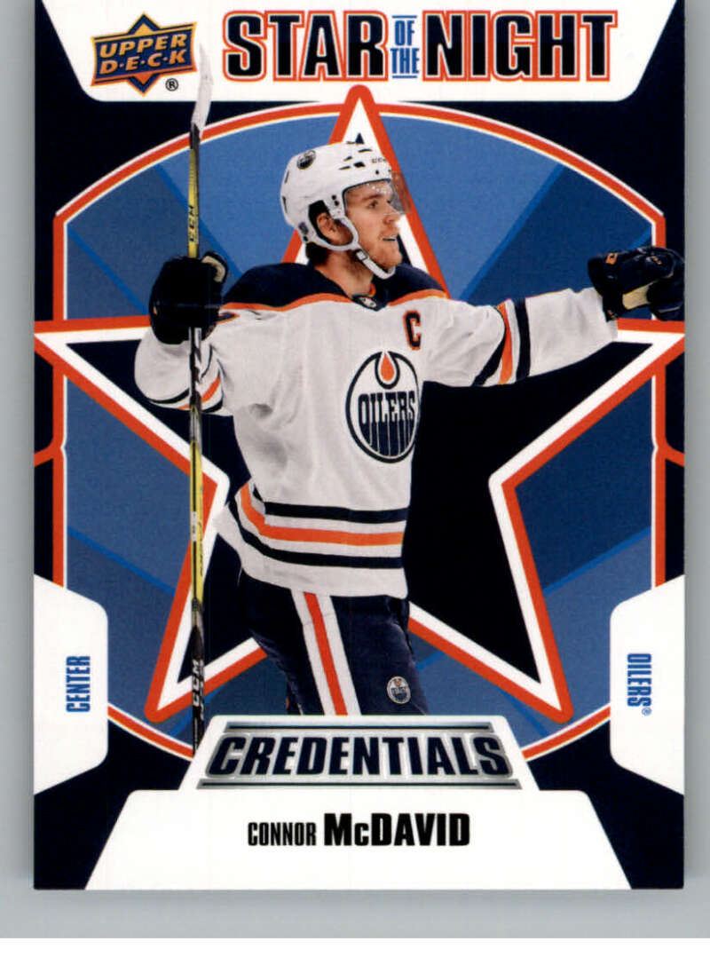 2019-20 Upper Deck Credentials Star of the Night