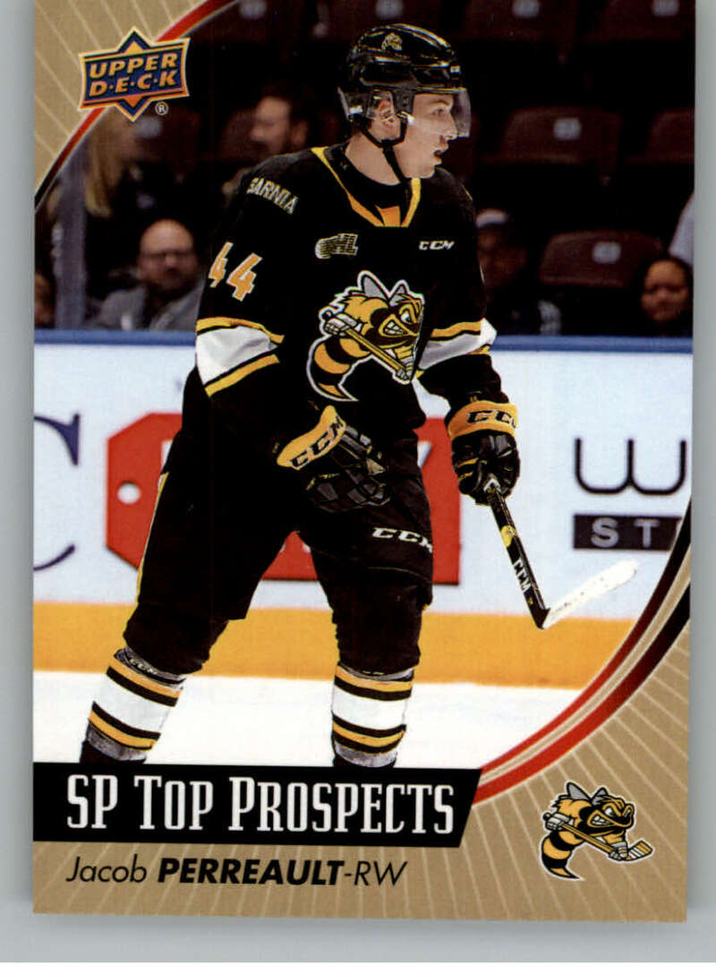 2019-20 Upper Deck CHL SP Top Prospects