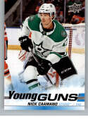 2019-20 SP Authentic NHL Upper Deck Update Young Guns #518 Nick Caamano Dallas Stars  Official UD Hockey Trading Card
