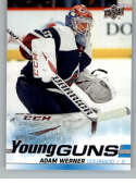 2019-20 SP Authentic NHL Upper Deck Update Young Guns #522 Adam Werner Colorado Avalanche  Official UD Hockey Trading Card