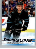 2019-20 SP Authentic NHL Upper Deck Update Young Guns #523 Joachim Blichfeld San Jose Sharks  Official UD Hockey Trading Card