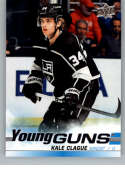 2019-20 SP Authentic NHL Upper Deck Update Young Guns #525 Kale Clague Los Angeles Kings  Official UD Hockey Trading Card